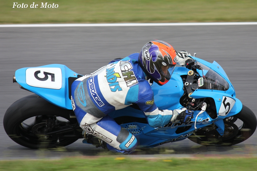 ST600 #5 チーム ビークラフト 青木 道博 Honda CBR600RR