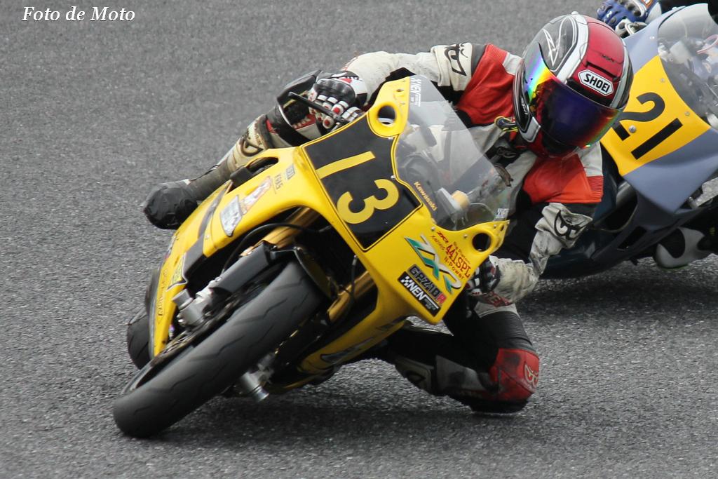 TC400 #13 Bike Shop NEN 田中 稔一 Kawasaki ZXR400R