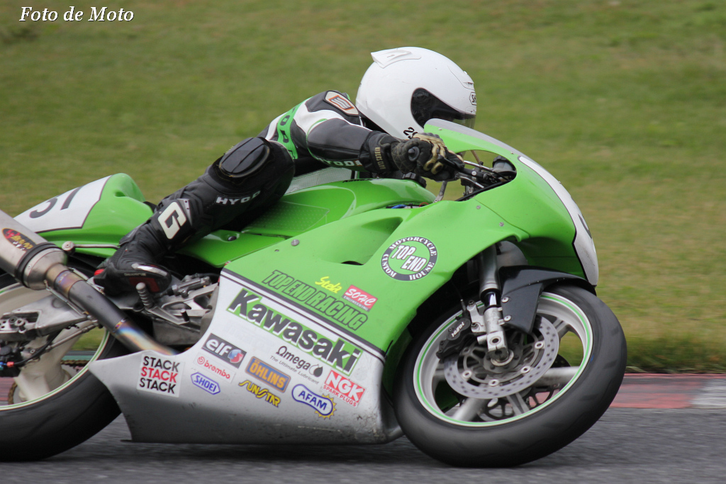 TC400 #31 TOP END Racing 山口 広行 Kawasaki KR650