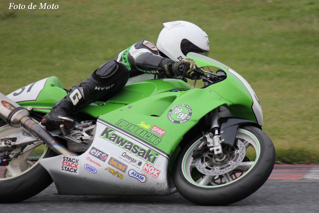 TC400 #31 TOP END Racing 山口 広行 Kawasaki KR650