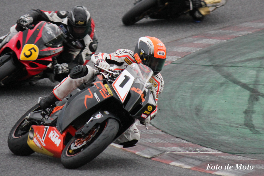 TC-Formula #1 KENZ・KTM Racing 松田 光市 KTM 1190RC8R