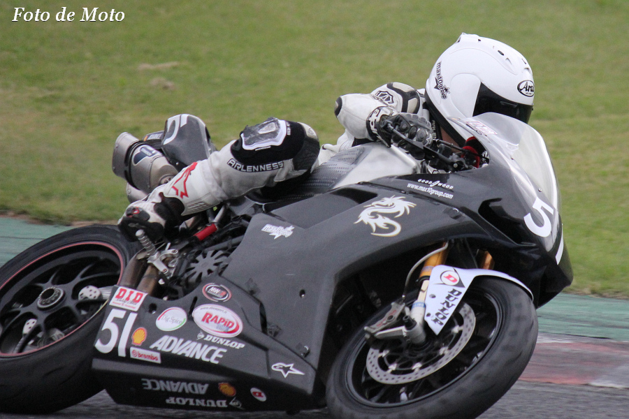 TC-F #51 Ducati松戸 砂塚 知男 Ducati 1198