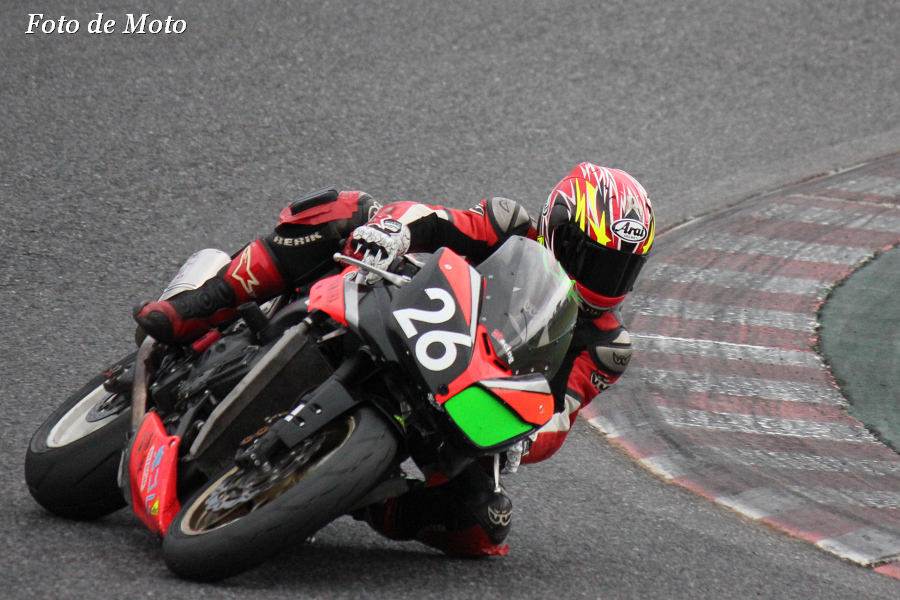TC-F #26 稲垣モータース&ドッグファイトR+プレアホール 冨岡 琢磨 Yamaha FZ-1