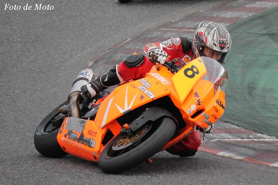 JSB1000 #8 モトストレッタ 飯田 朋大 KTM 1190RC8R
