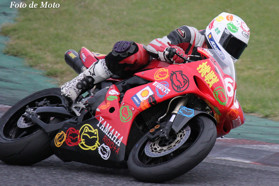 TC-F #66 TeamRIGID+A 加藤 宏希 Yamaha YZF-R1