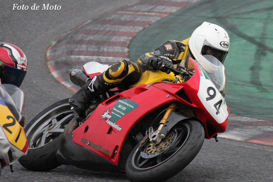 TC-F #94 チーム・ファンデーション 名越 公一 Ducati 916
