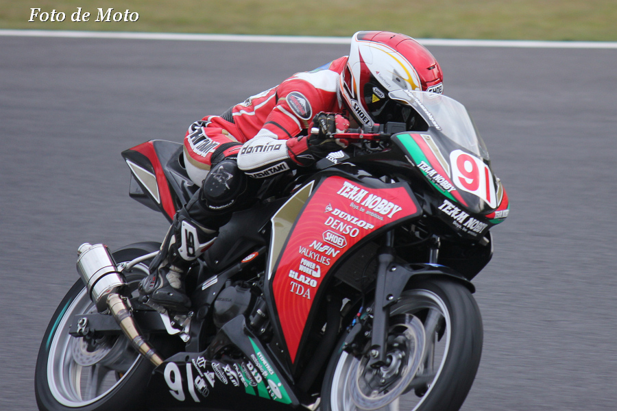 CBR250R #91 Team NOBBY 森 俊也 Honda CBR250R
