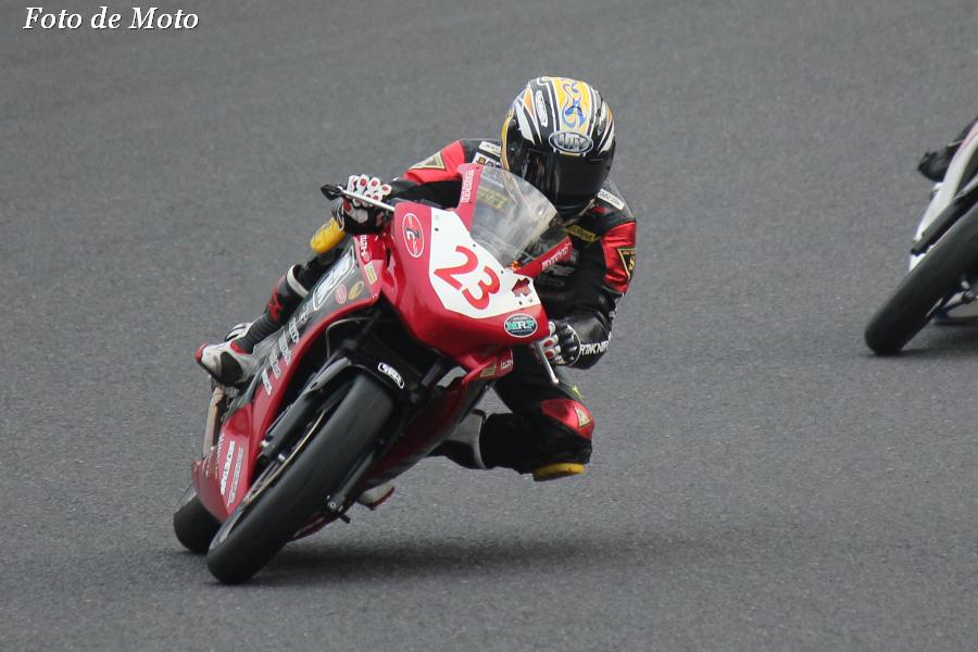 CBR250R #23 NTR+RH松島+7C+ワコーズ 田中 敬秀 Honda CBR250R