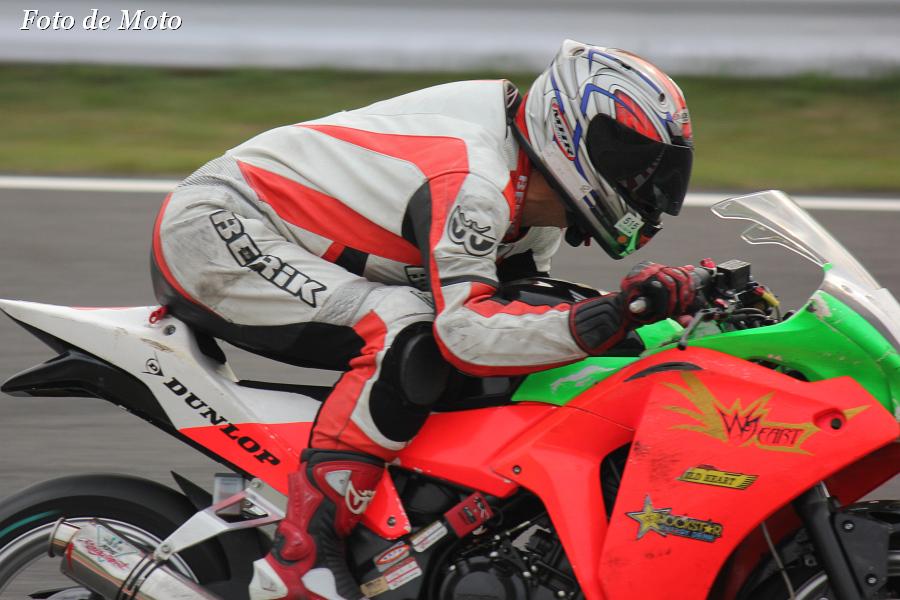 CBR250R #43 TEAM.WILD☆HEART+B'WIZER.T 菊地 敦 Honda CBR250R