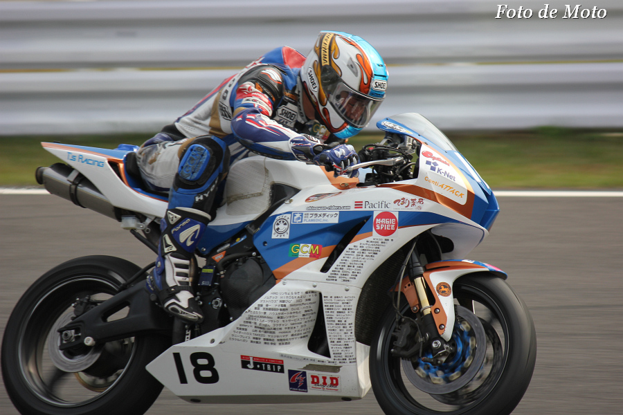 ST600 #18 TEAMしんたろうwithKRT   中山 真太郎 Nakayama Shintaro Honda CBR600RR
