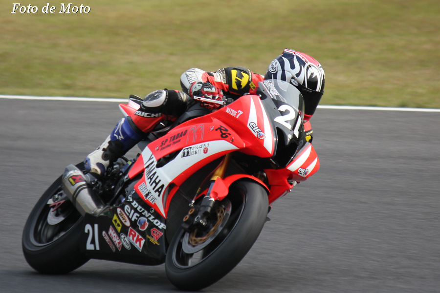 J-GP2 #21 SP忠男レーシングチーム 篠崎 佐助 Shinozaki Sasuke YAMAHA YZF-R6