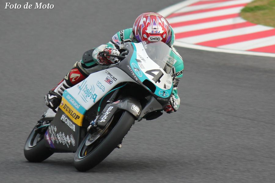 J-GP3 #4 Projectμ7C HARC    仲城 英幸 Nakajo Hideyuki Honda NSF250R