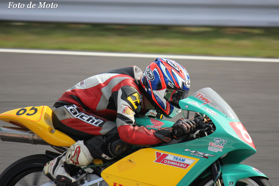 J-GP3 #65 チームヨシハル&K1Racing Troy GUENTHER Honda NSF250