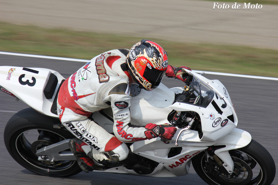 J-GP2 #13 CLUB HARC-PRO  赤間 清 Honda HP6