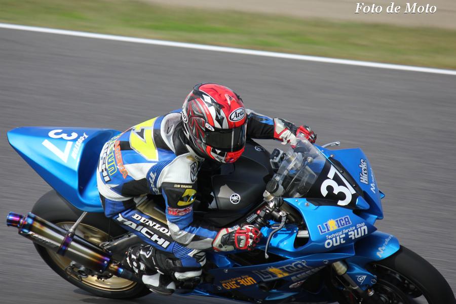J-GP2 #37 レーシングチーム Out Run  中本 翔 Nakamoto Sho YAMAHA YZF-R6