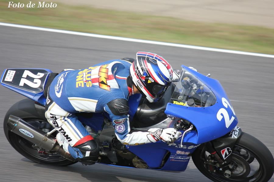 J-GP2 #22 TEAM PLUSONE  佐藤 太紀 Sato Taiki Honda TSR6