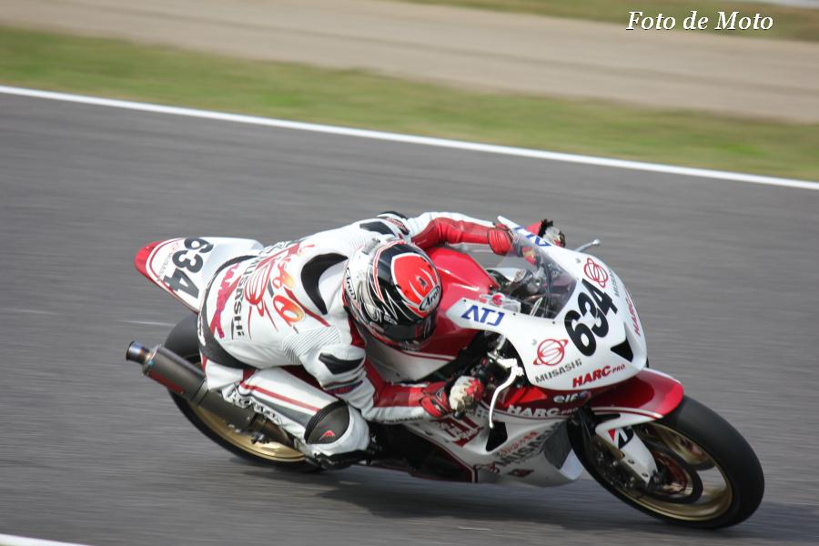 J-GP2 #634 MuSASHi RT ハルク・プロ 浦本 修充 Honda HP6