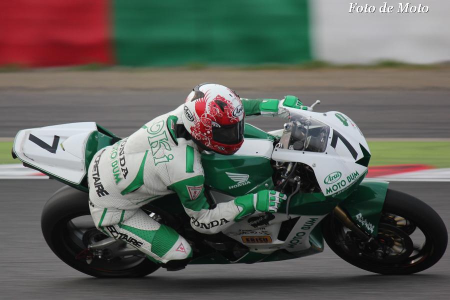 J-GP2 #7 MOTO BUM HONDA  大木 崇行 Honda CBR600RR