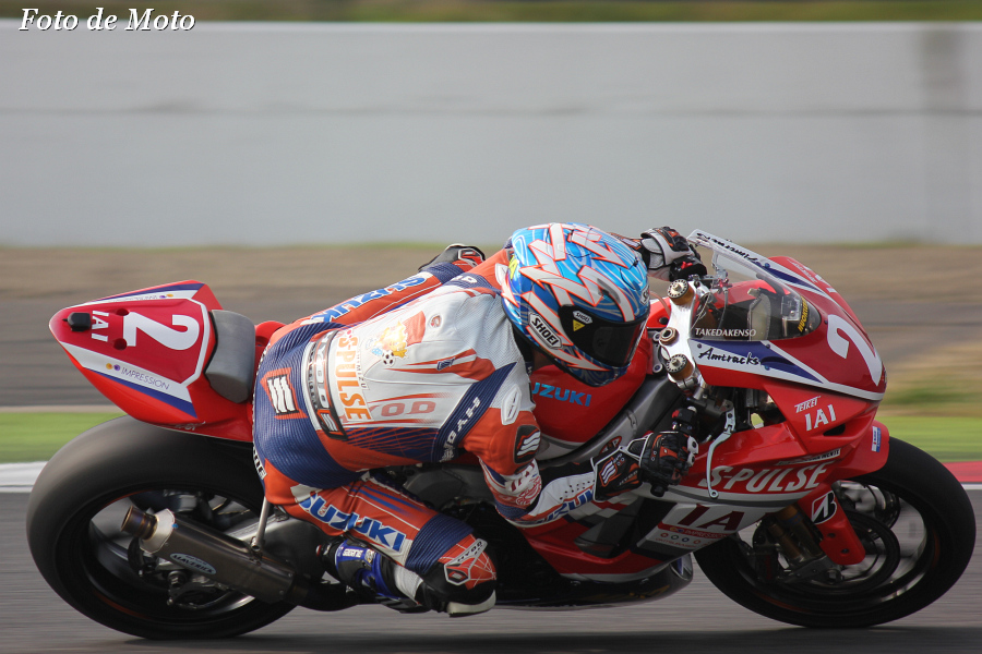 J-GP2 #2 エスパルスドリームレーシング     生形 秀之 Ogata Hideyuki  SUZUKI MFD6