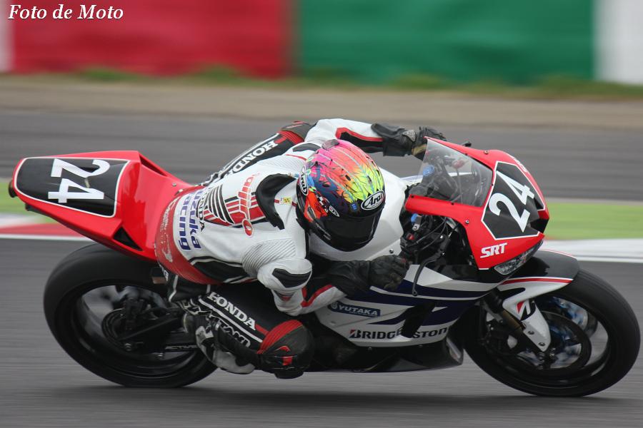ST600 #24 Honda鈴鹿レーシングチーム 日浦 大治朗 Hiura Daijiro Honda CBR600RR