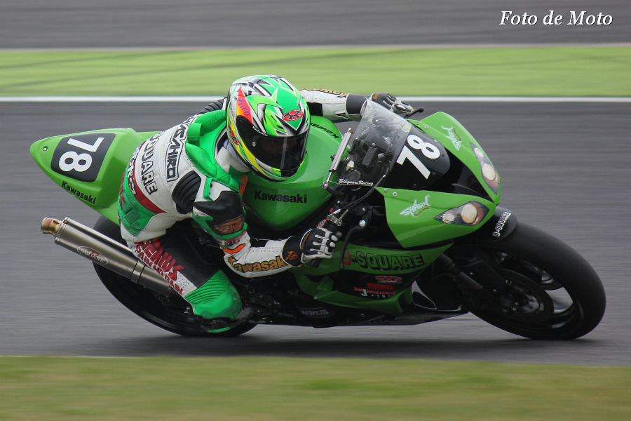 ST600  #78 B-SQUARE racing 大田 雅裕 KAWASAKI ZX-6R