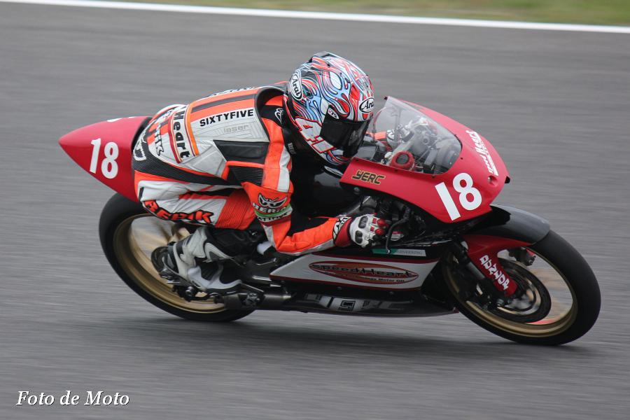 J-GP3 #18 タニシ&speed heart YERC 葛西 雅迪 Kasai Masamichi Honda NSF250R