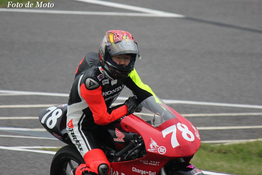 J-GP3 #78 HotRacing    大久保 光 Okubo Hikari Honda NSF250