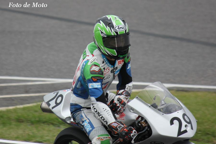 J-GP3 #29 ウィダー チーム アイファクトリー   澁田 晨央 Shibuta Tokio Honda NSF250R