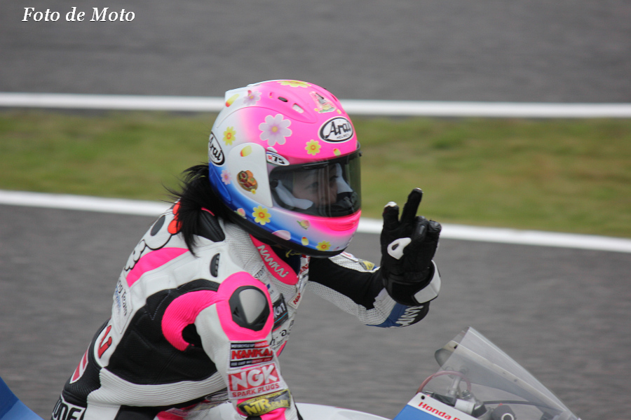J-GP3 #31 KoharaRacing 岡崎 静夏 Okazaki Shizuka Honda NSF250R
