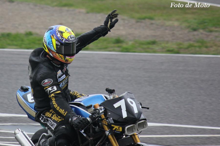 J-GP2 #79 アサヒナレーシング  朝比奈 正 Asahina Tadashi ASAHINA Z600