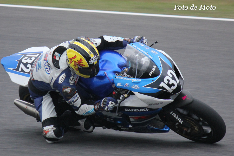 JSB1000 #132 MotoMap SUPPLY   寺本 幸司 SUZUKI GSX-R1000L3
