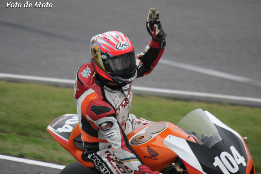 JSB1000 #104 TOHO Racing with MORIWAKI  山口 辰也 Yamaguchi Tatsuya Honda CBR1000RR