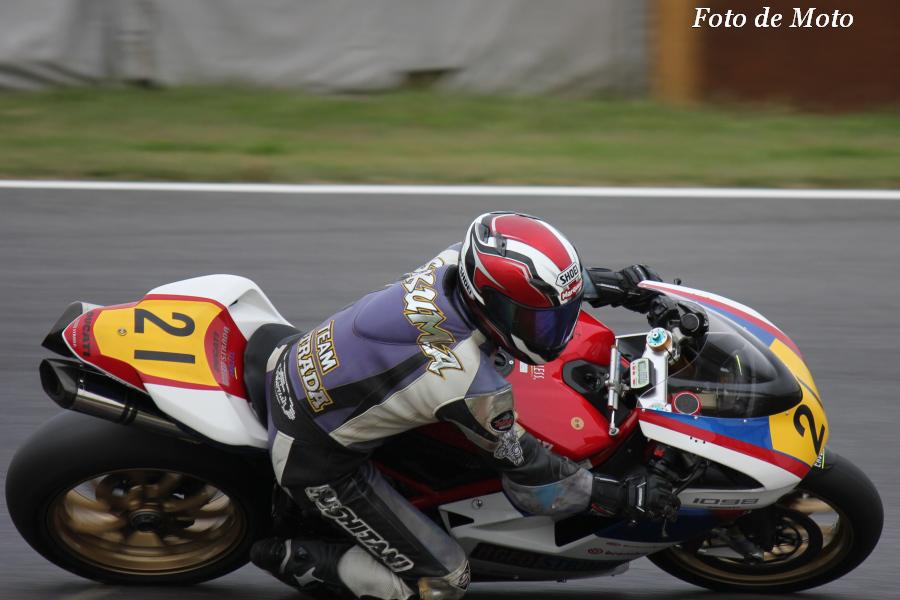 JSB1000 #21 TEAM★STRADA&木場 佐久間 洋 Ducati 1098S