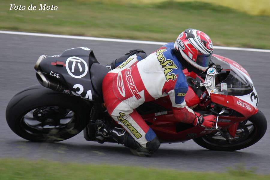 TC-F #34 にしも 横地 諭 Ducati 1198SP
