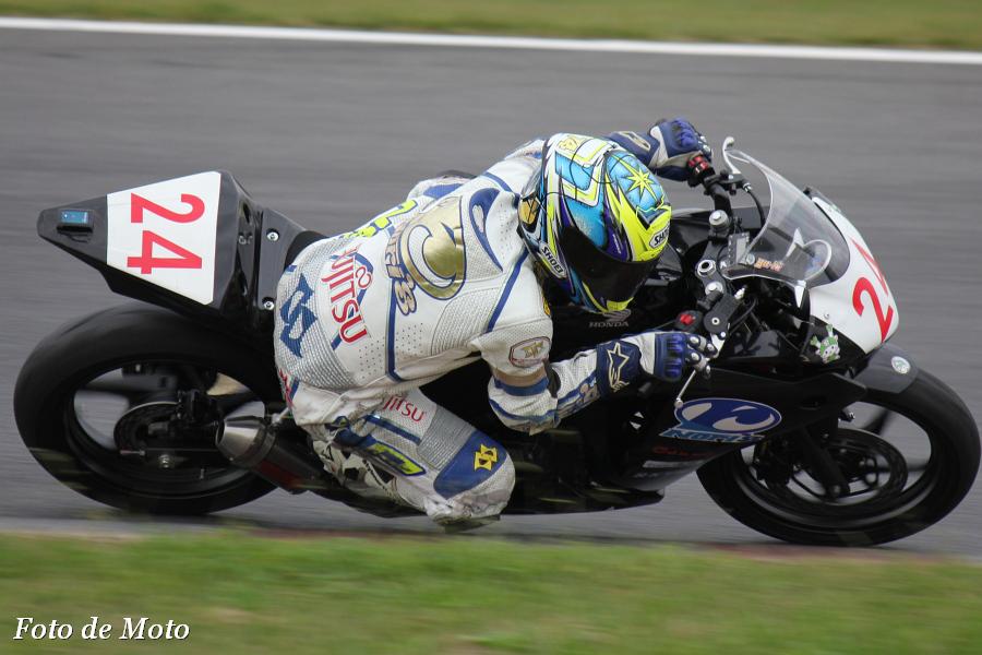 CBR250R #24 DFノリーズ+鬼平+iF 杉山 優輝 Honda CBR250R