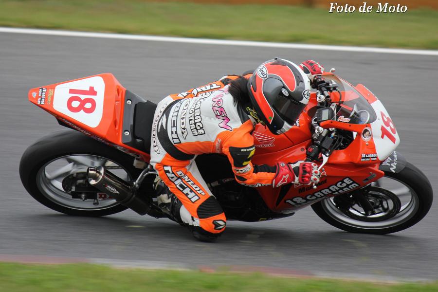 CBR250R #18 18 GARAGE RACING TEAM 小椋 華恋 Honda CBR250R