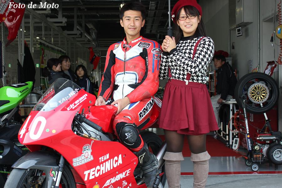 J-GP3 #40 TEAM TECHNICA   中山 翔太 Honda NSF250R