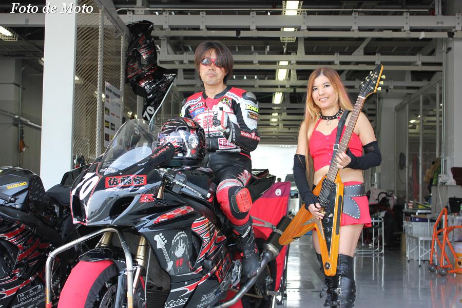 JSB1000 #70 佐藤家レーシング   佐藤 慎一郎 SUZUKI GSX-R1000K9