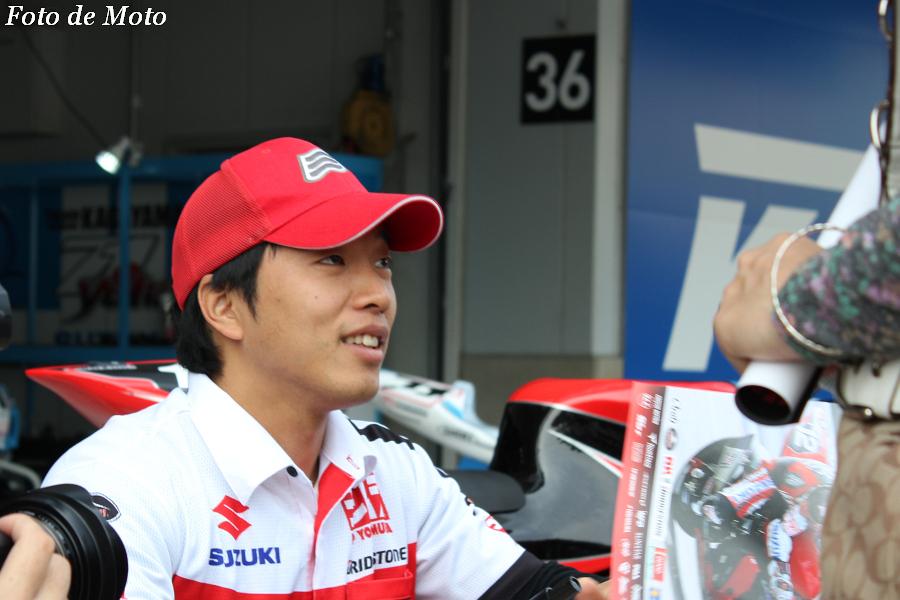 JSB1000 #12 ヨシムラスズキレーシングチーム  津田 拓也 SUZUKI GSX-R1000L3
