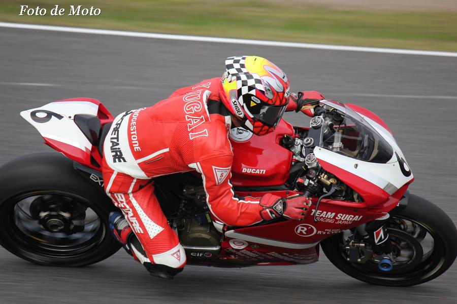 JSB1000 #6 チームスガイレーシングジャパン  須貝 義行 Sugai Yoshiyuki DUCATI 1199PanigaleR