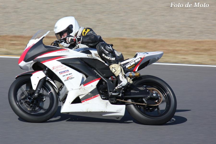 ST250 #3 ファイヤーガレージ&MKT-R 丸山 浩康 Ninja250R