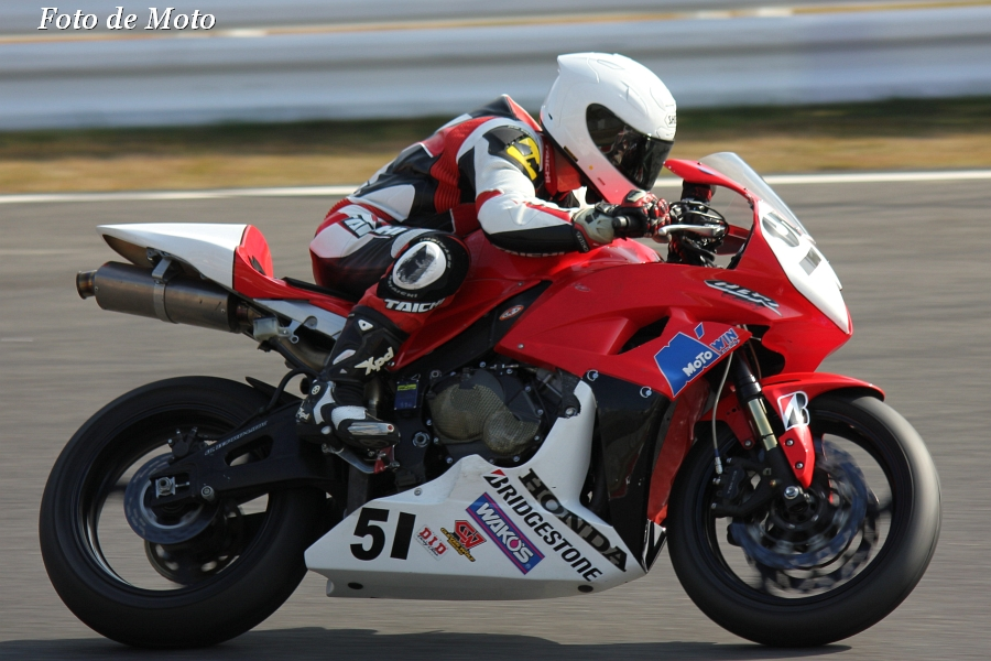 ST600 #51 MOTO WIN RACING 島﨑 一臣 ホンダCBR600RR