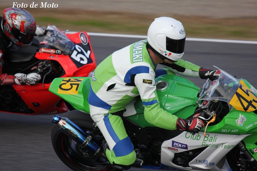 JSB1000 NAT #45 Club Bali Racing Team 玉巻 伸隆 カワサキ ZX-10R