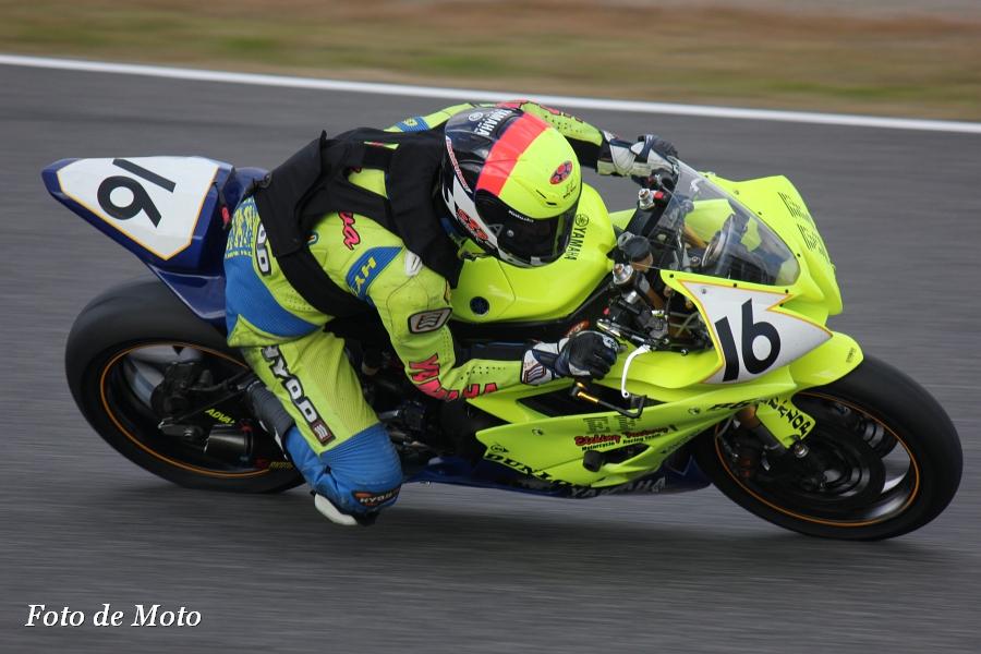 ST600 リバイバル #16 チーム・エッチングファクトリー 有川 浩太郎 ヤマハYZF-R6