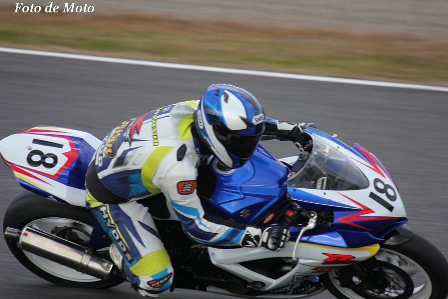 ST600 リバイバル #18 浜松チームタイタン 上林 隆洸 スズキ GSX-R600