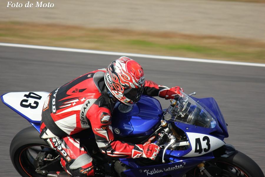 ST600 リバイバル #43 KIT Racing 増田 訓士 ヤマハYZF-R6