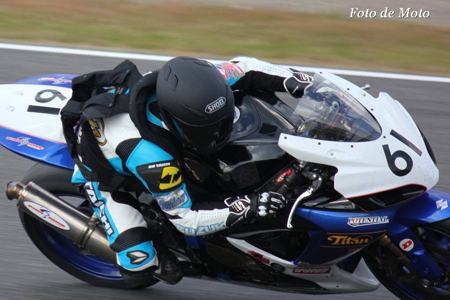 ST600 リバイバル #61 浜松チームタイタン 小峰 周 スズキGSX-R600