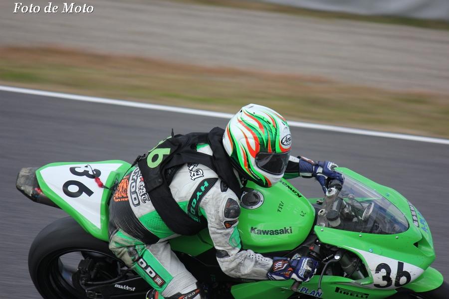 ST600 リバイバル #36 Team A-PLAN+多気鉄筋 三村 豊 カワサキZX-6R