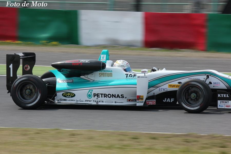 F3 #1 PETRONAS TOM'S F312  勝田 貴元 T.Katsuta Dallara F312
