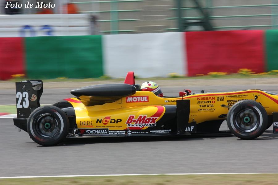 F3 #23 B-MAX NDDP F312 佐々木 大樹  D.Sasaki Dallara F312